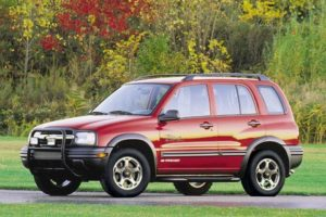 Chevrolet Tracker 1999 - Service Repair Workshop
