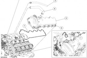 Ford Mustang 2007 - Service Manual Download - Engine