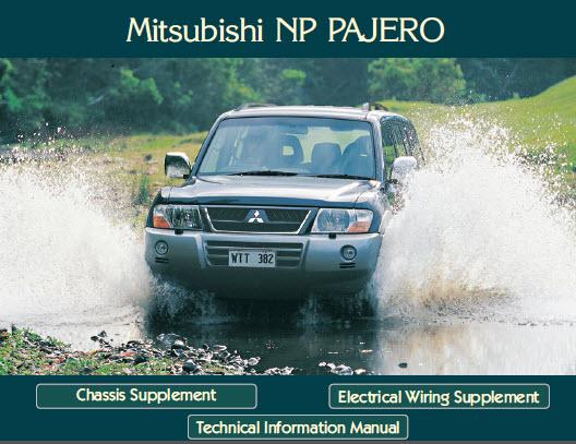 Mitsubishi Pajero 2002 - Service Manual - Mitsubishi Pajero Fuel Economy