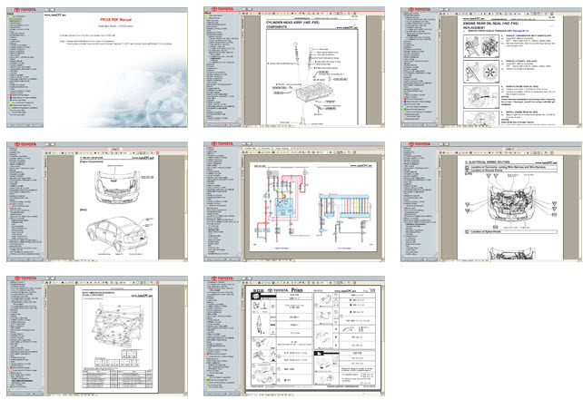 Toyota Prius 2003 2004 2005 Service Manual And Electrical Wiring - Repair7
