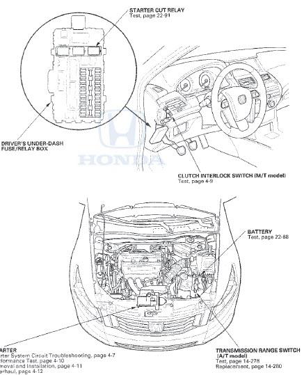 2008 Honda Accord - Factory Manual - Honda Accord Coupe v6 2008