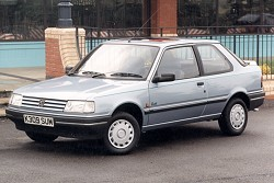 Peugeot 309 Hatchback Glx - Service Manual - Workshop Service