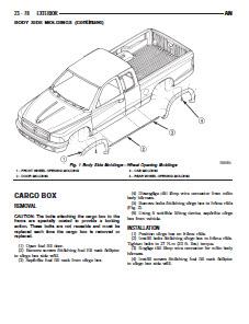 Dodge Dakota 2001 Quad Cab 3.7L 4.7L - Workshop Service Repair Manual
