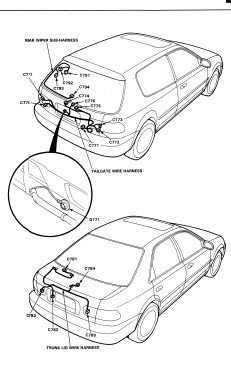 Honda Civic Coupe 1992 1993 - Service Manual Repair Manual - Car Service