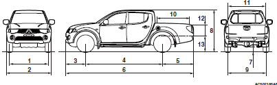 Mitsubishi Triton 2006 Service Manual And Repair Car Service Manuals diagrams 468572 mitsubishi triton wiring diagram 1988 mitsubishi triton wiring diagram tail lights at readyjetset.co