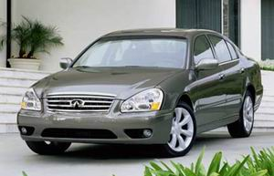 Infiniti Q45 1997 - Service Manual and Repair - Car Service Manuals