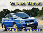 Subaru wrx Impreza 2000 2001 Suiza - Service Manual - Subaru Impreza Sti