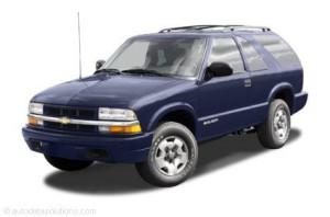 Workshop Service Repair Manual Chevrolet Blazer 1996 1997 1998 1999 2000 2001 2002 2003