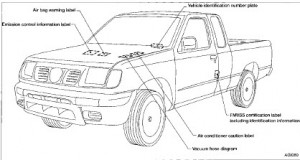 Nissan Frontier Factory Service Manual 1998-1999-2000-2001