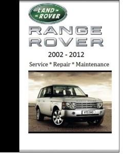 Land Rover Range Rover 2008 2009 2010 Repair Workshop Manual