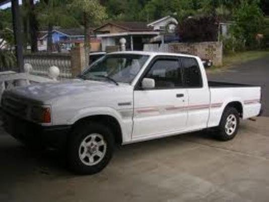 1992 Mazda Pickup Trucks B Series Technical Service Repair Manual - CarService