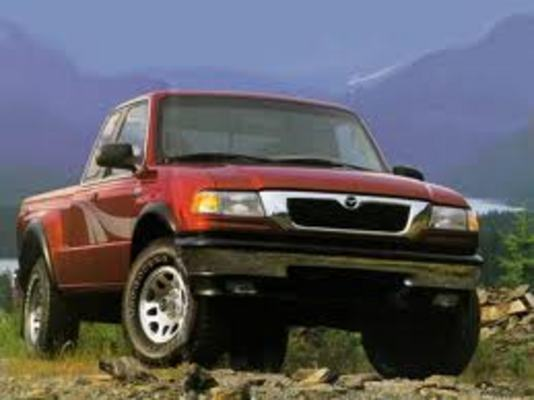 1998 Mazda B4000 Pickup Truck Technical Service Repair Manual - CarService