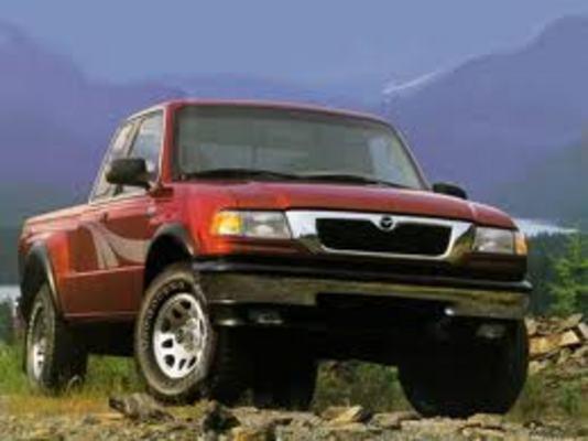 1998 Mazda B4000 Pickup Truck Technical Service Repair Manual - CarService