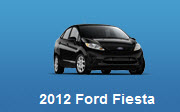 2012 Ford Fiesta User Owner Manual - Car Service