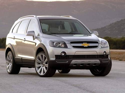 Chevrolet Captiva 2007 2008 2009 2010 Factory Service Manual