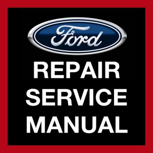 Ford Escape 2002 2004 2005 2006 2007 Workshop Service