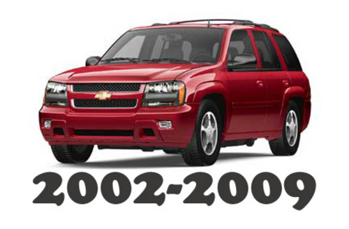 2002-2009 Chevrolet Trailblazer Service Repair Workshop Manual DOWNLOAD