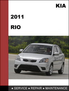 2011 Kia Rio Factory Service Repair Manual - Mechanical Specifications