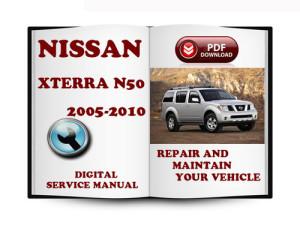 2005 2007 2008 2010 Nissan Xterra Technical Workshop Service Repair Manual