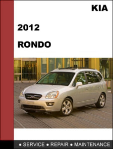Kia Rondo Workshop Service Repair Manual 2012 - Mechanical Specifications